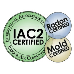 mold radon Certified
