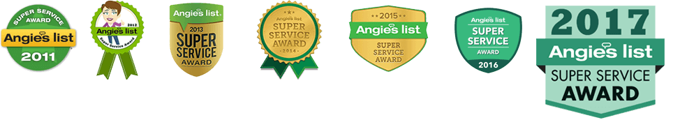 angies list super service home inspector award 7 years