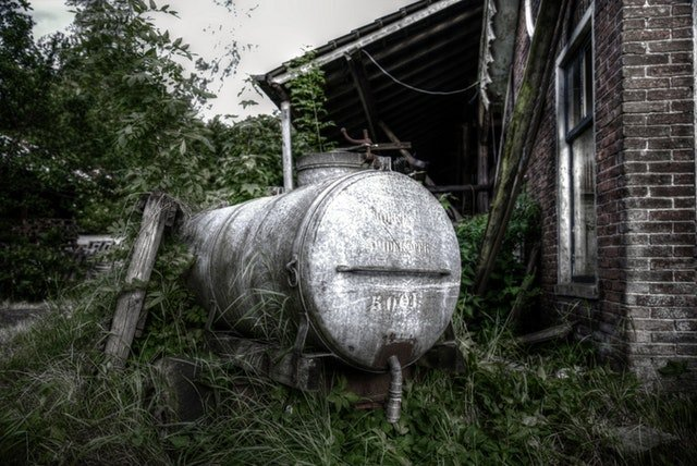 Home oil tank