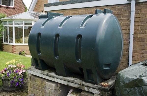 residential oil tank