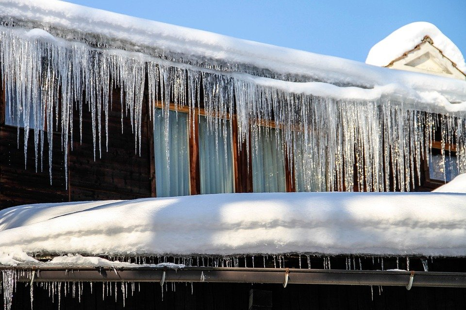 icy gutters