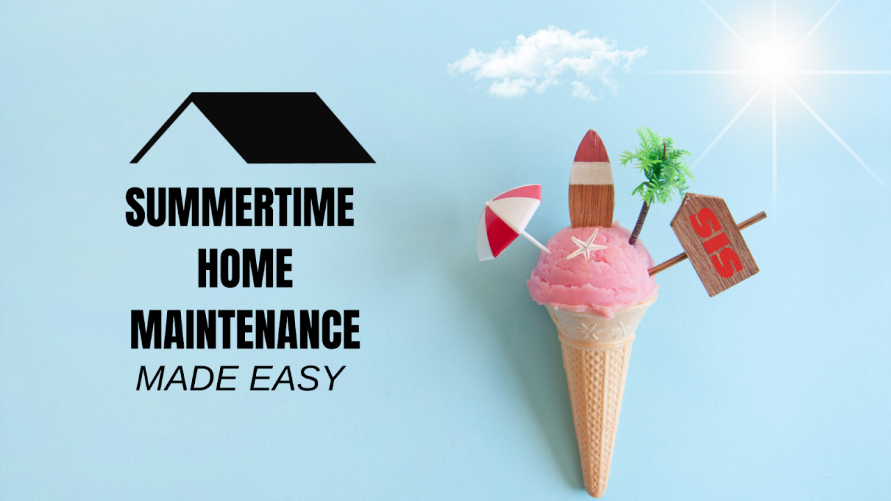 summertime home maintenance
